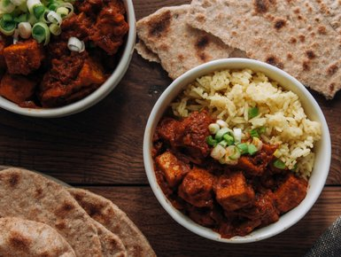 GINGER & LENTIL SPICED CHICKEN BALTI
